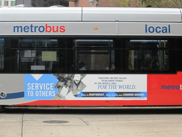 Common Ground Metro Bus Side