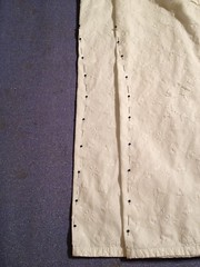 White Blouse Alteration - Darts