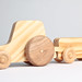 Hand-Made Wooden Toy Tractor