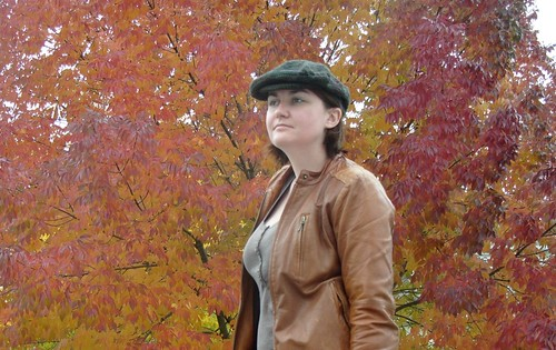 fall and a hat by gradschoolknitter