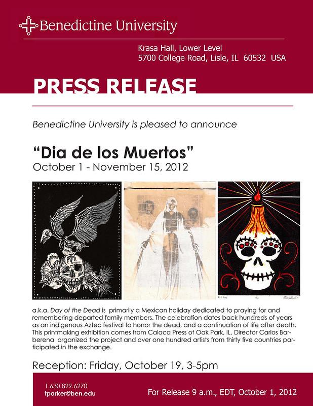 PR. Dia de Muertos Calacas I. 2012