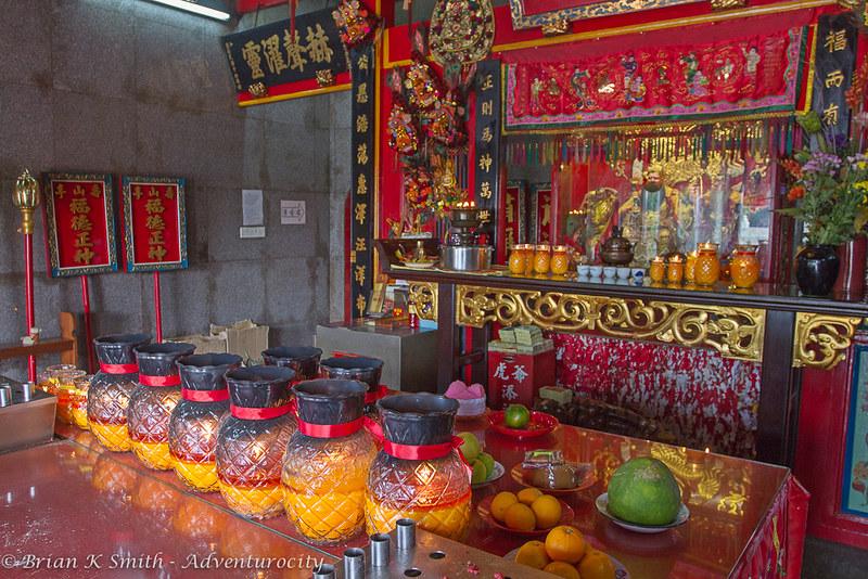 Tua Pek Kong Temple Altar