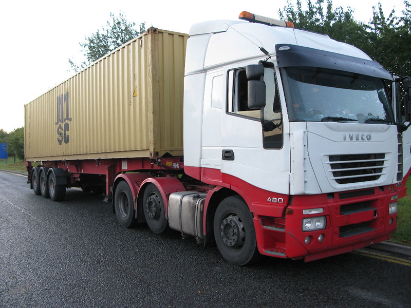 Iveco Stralis 44 Tonner