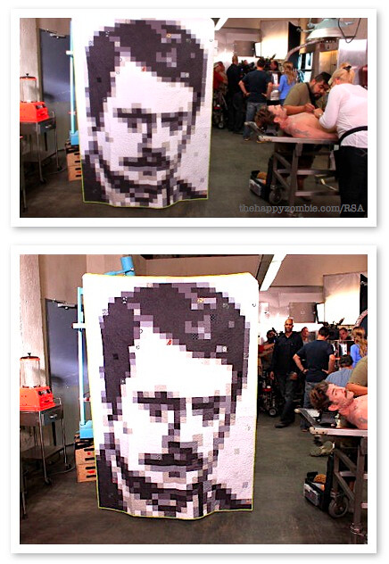 The Many Faces of Ron Swanson [quilt]