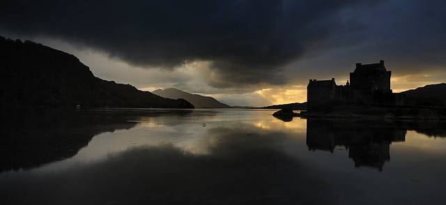 Eileen Donan Sunset, Scotland