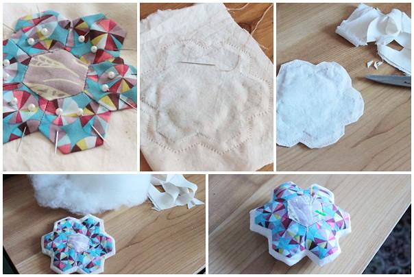 Hexie Flower Pin Cushion