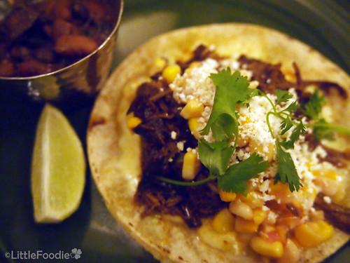 Short Rib Barbacoa Taco