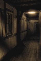 The castle's corridor