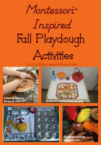Montessori-Inspired Fall Playdough Activities