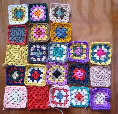 crochet poncho squares