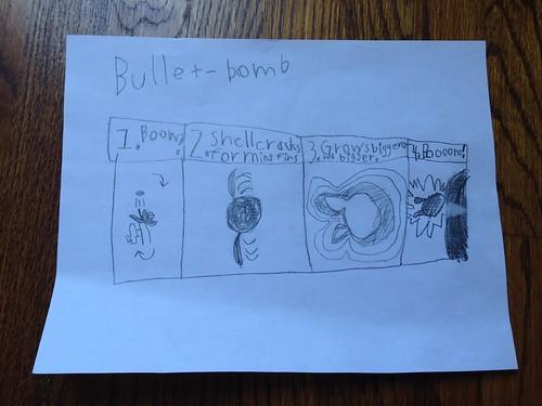 """""""Bullet-bomb"""""""