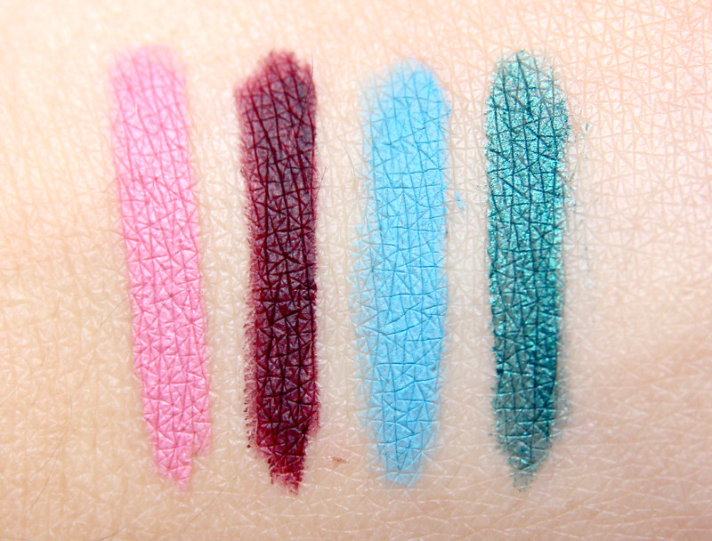 sleek makeup eau la la liner swatch