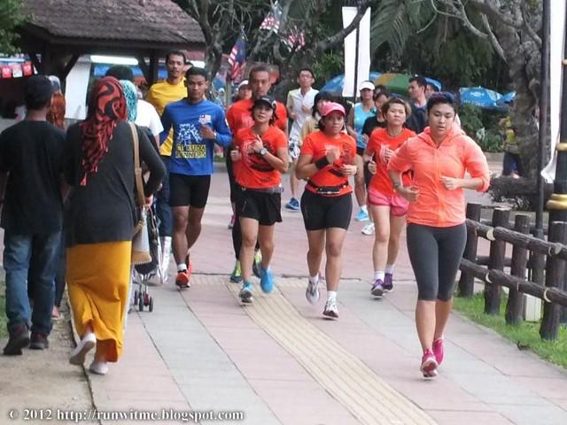 Running @ Taman Tasik Titiwangsa
