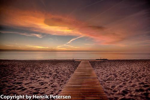 strand denmark hdr vand marielyst solopgang væggerløse regionzealand