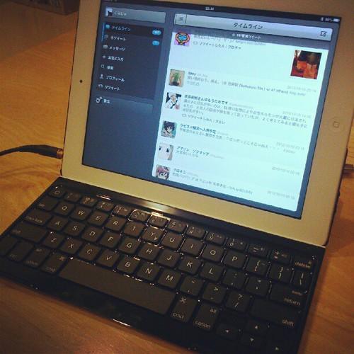 iPad用のキーボード(TK710)買った