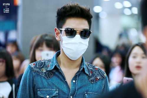 Big Bang - Gimpo Airport - 20may2015 - TOP - Utopia - 04