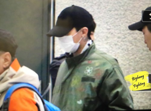 Big Bang - Incheon Airport - 27mar2016 - BigbangFighting - 11