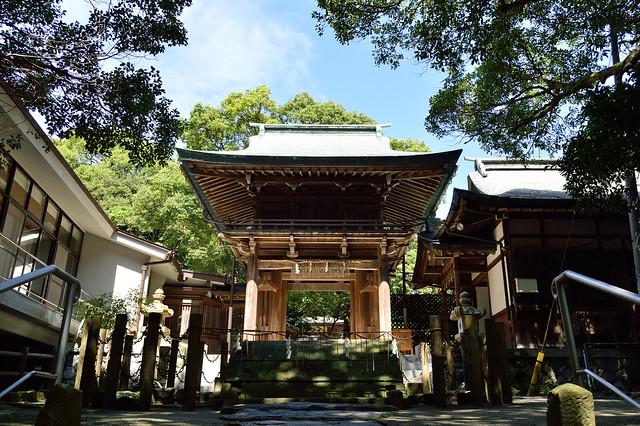 志賀海神社 Shikaumi-jinja shrine