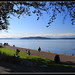 Alki Beach -West Seattle by Contrails