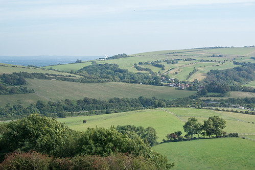 View from beyond Wolstonbury Hill