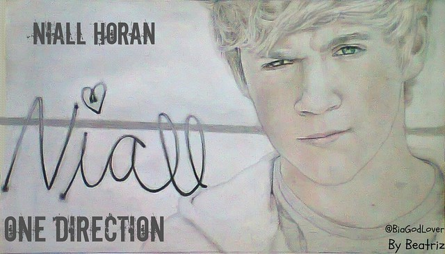 Niall Horan Desenho-Drawing