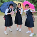 Japanese School Girls - Kyoto