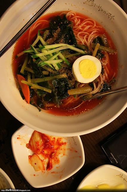 Myeongdong Noodle House - Radish Leaves Kimchi Noodles