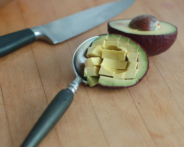 Easy avacado cubes