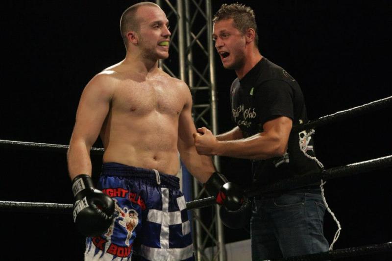 Ο Νίκος Κελέκης στο Knock Out 1 Kavala