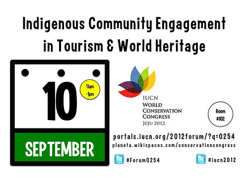Indigenous Community Engagement @ South Korea #forum0254