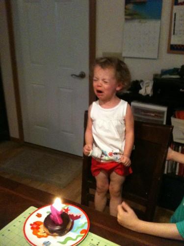 NO BIRTHDAY SINGING.