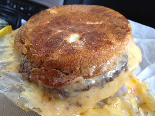 The Varsity Cheese (Pimento Cheese) Burger
