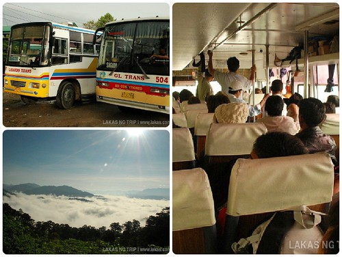Bus from Sagada to Baguio