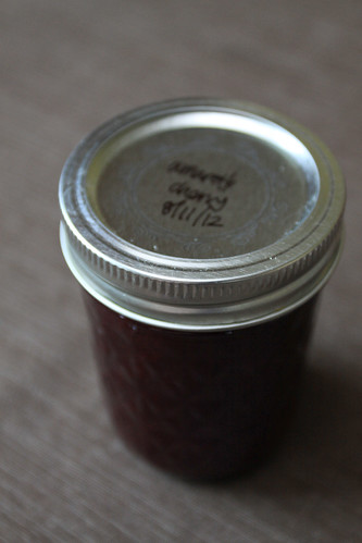 Amaretto Cherry Jam