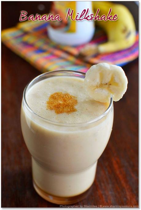 Banana Milkshake Recipe