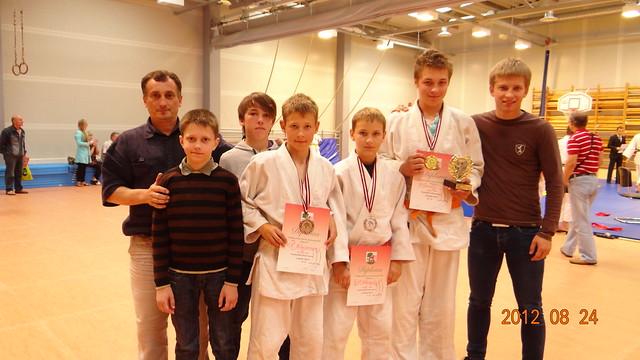 Iš kairės A,Kasteckas, O.Urbonas, T. Lesovojus, M. Narkus, D. Miknius, G. Gaučys ir D. Kasteckas