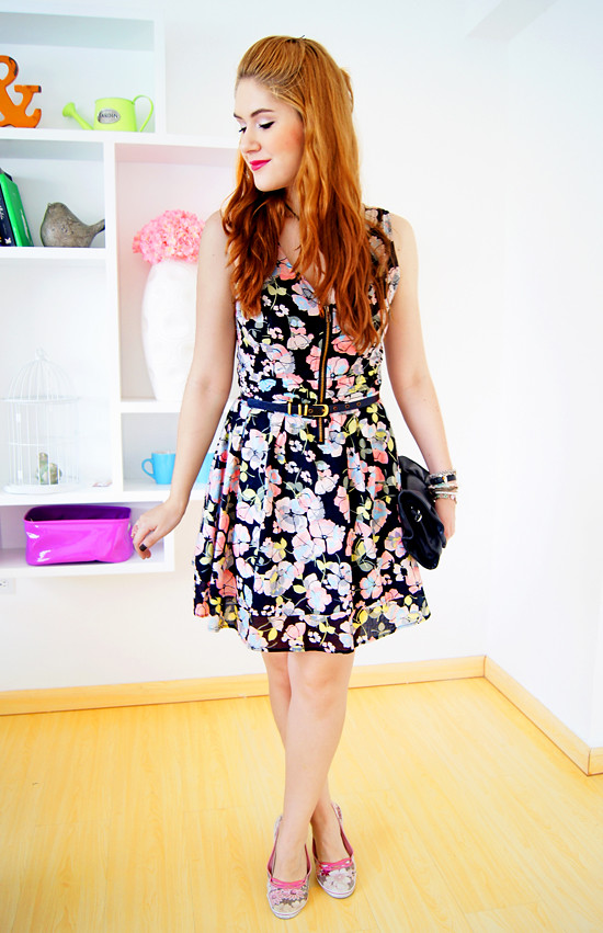Floral dress by The Joy of Fashion (11)