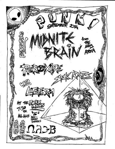 9/27/12 MidniteBrain/Peroxide/SickRats/LifeForm