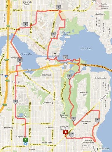 Today's awesome walk, 10.65 miles in 3:18 by christopher575