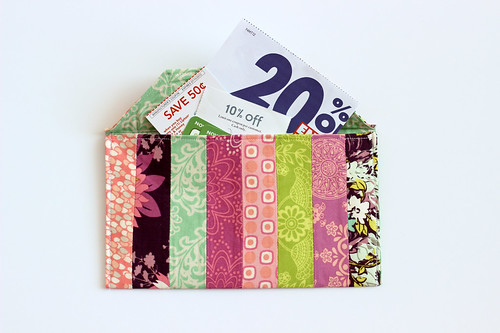 Fabric Envelopes Tutorial - Large by Jeni Baker