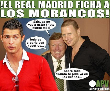 Cristiano Ronaldo Los Morancos