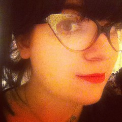 Big glittery glasses, going to sell these as I never wear em!