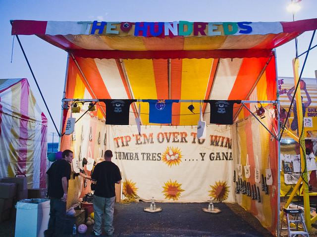 The Hundreds Carnival @ FYF 2012