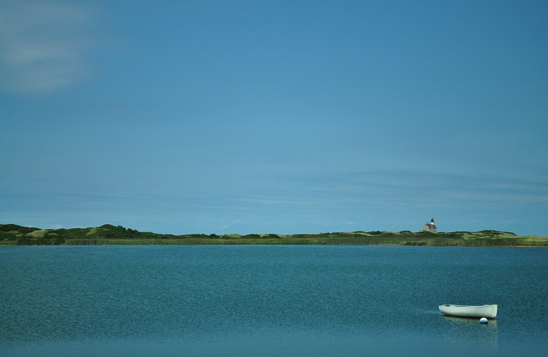 Sachem Pond on Block Island.