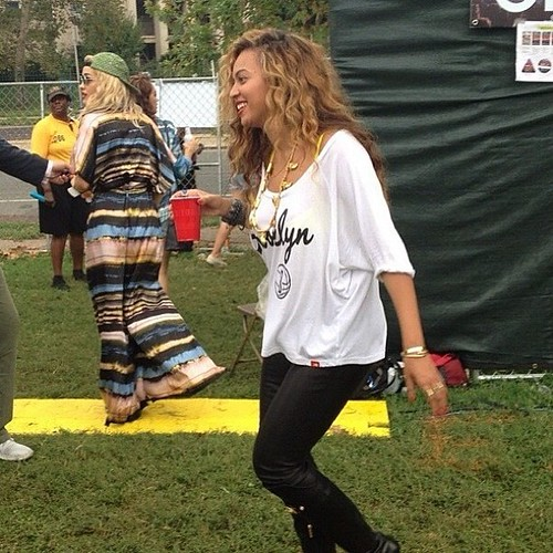 Beyonce's Clothes - Brooklyn Nets Shirt By Sportiqe Apparel