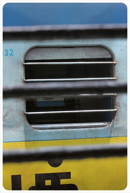 india train window