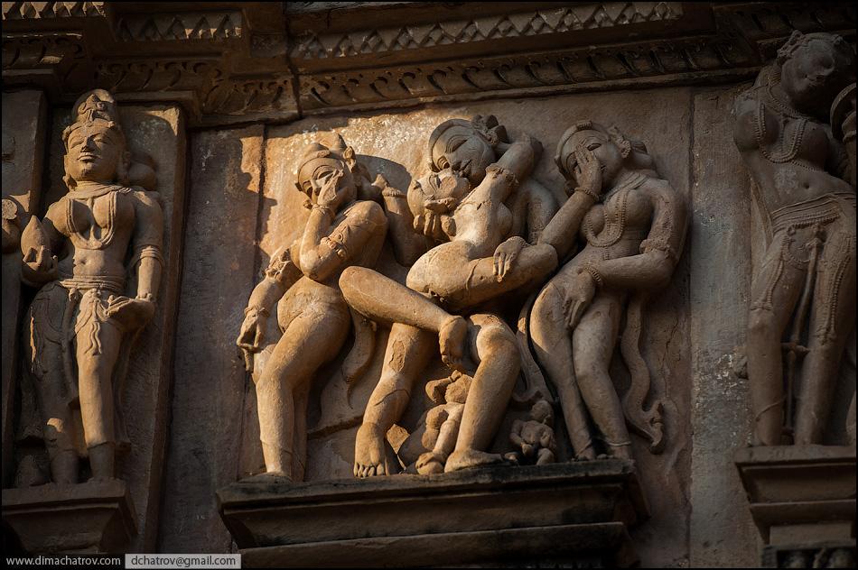 Индийские скульптуры секс