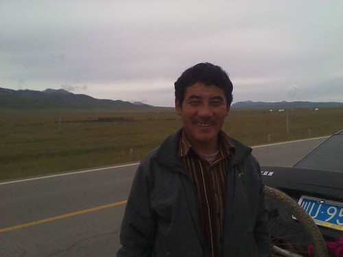 藏民男的草原爱情