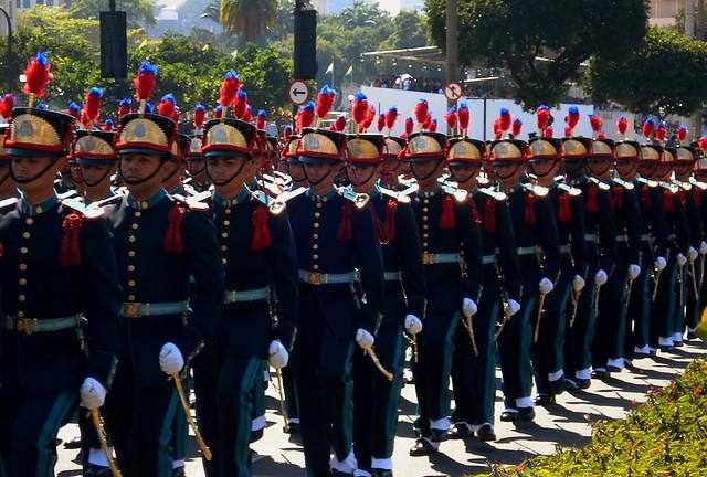 Desfile Militar de 7 de Setembro - Avenida Presidente Vargas - Rio de Janeiro