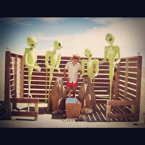Take me to you leader @hoover11 #burningman2012 #latergram